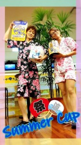 summer cup 一谷プロ&ステ子